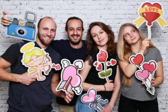 The Smilecube - photo booth